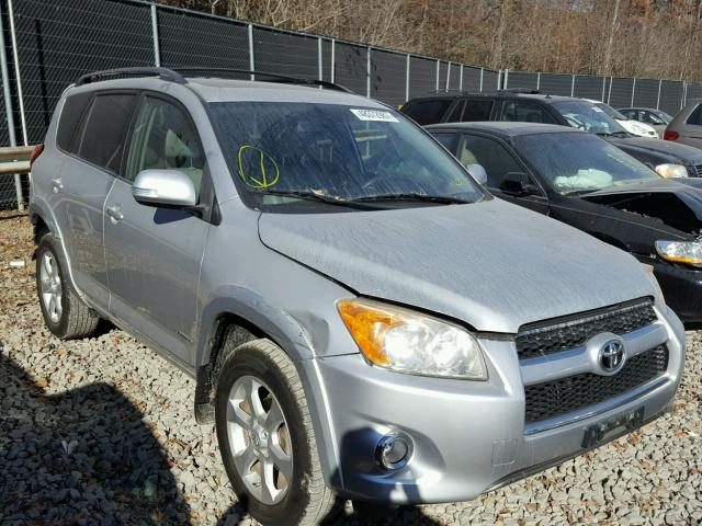 JTMZF31V19D003903 - 2009 TOYOTA RAV4 LIMIT SILVER photo 1