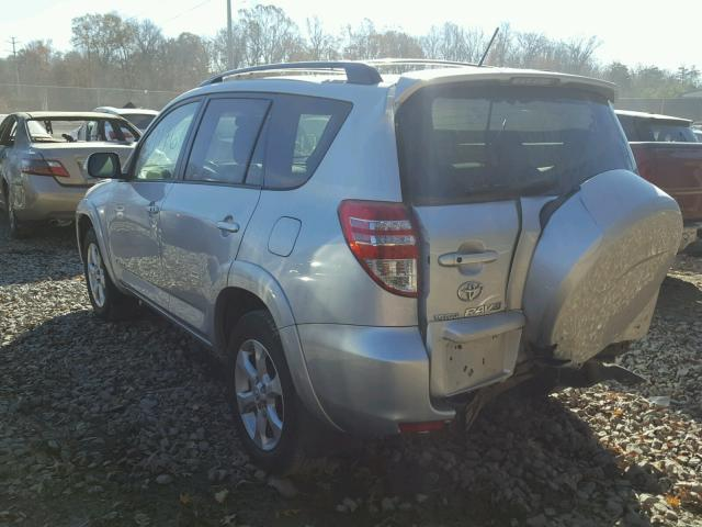 JTMZF31V19D003903 - 2009 TOYOTA RAV4 LIMIT SILVER photo 3