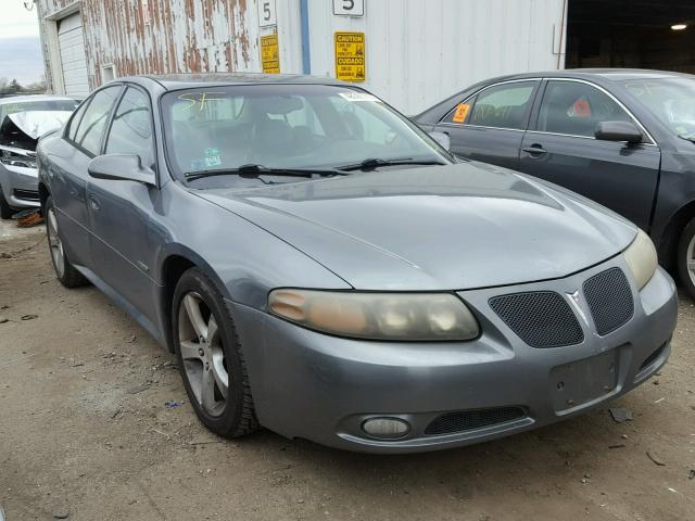 1G2HZ54Y95U208663 - 2005 PONTIAC BONNEVILLE GRAY photo 1