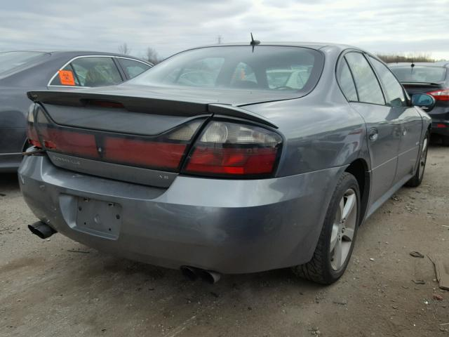 1G2HZ54Y95U208663 - 2005 PONTIAC BONNEVILLE GRAY photo 4