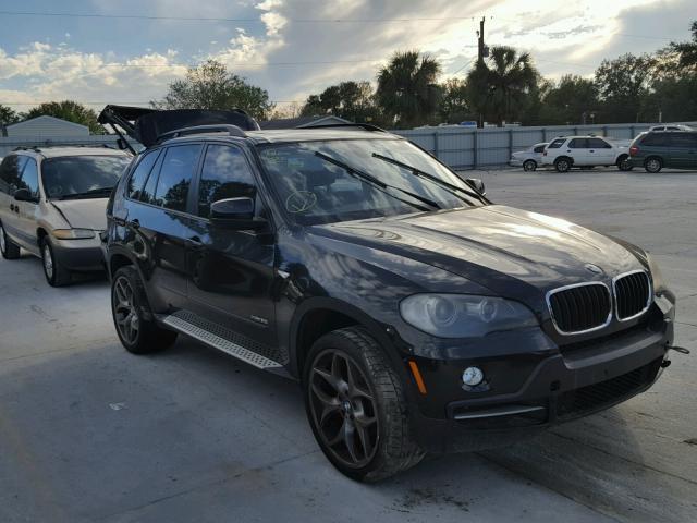 5UXFE43569L274811 - 2009 BMW X5 XDRIVE3 BLACK photo 1
