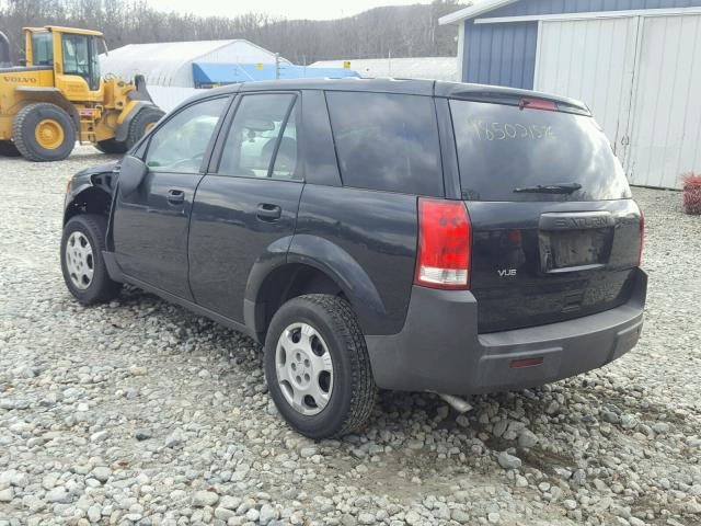 5GZCZ33D03S847353 - 2003 SATURN VUE BLACK photo 3