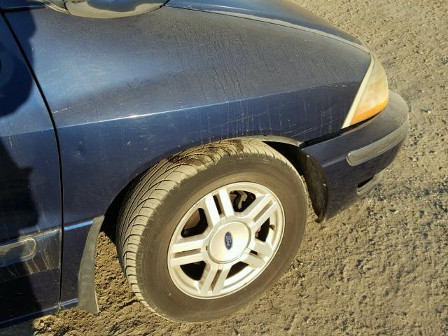 2FMZA52421BB81194 - 2001 FORD WINDSTAR S BLUE photo 9