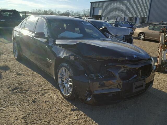 WBAYF8C54DD140619 - 2013 BMW 750LI XDRI BLACK photo 1