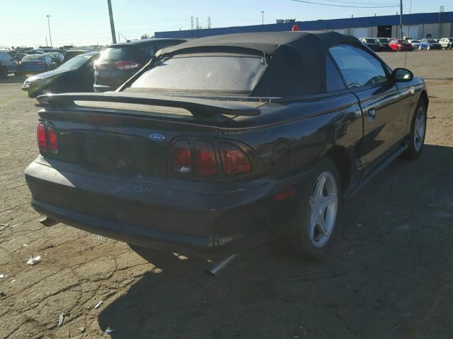 1FALP45X7TF203691 - 1996 FORD MUSTANG GT BLACK photo 4