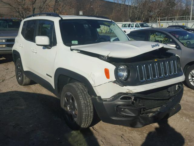 ZACCJBBH1FPB83274 - 2015 JEEP RENEGADE L WHITE photo 1