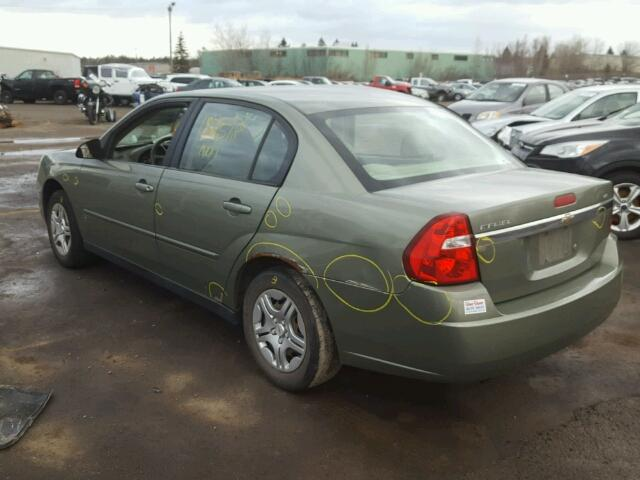 1G1ZS51F16F224653 - 2006 CHEVROLET MALIBU LS GREEN photo 3