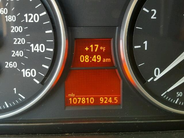 WBAVD13576KV00254 - 2006 BMW 325 XI GRAY photo 8