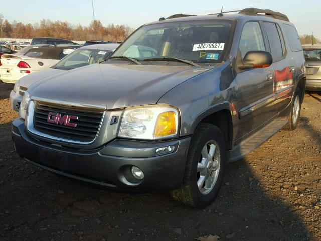 1GKET16S656153678 - 2005 GMC ENVOY XL SILVER photo 2
