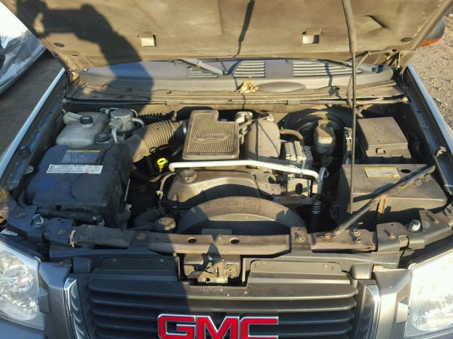 1GKET16S656153678 - 2005 GMC ENVOY XL SILVER photo 7