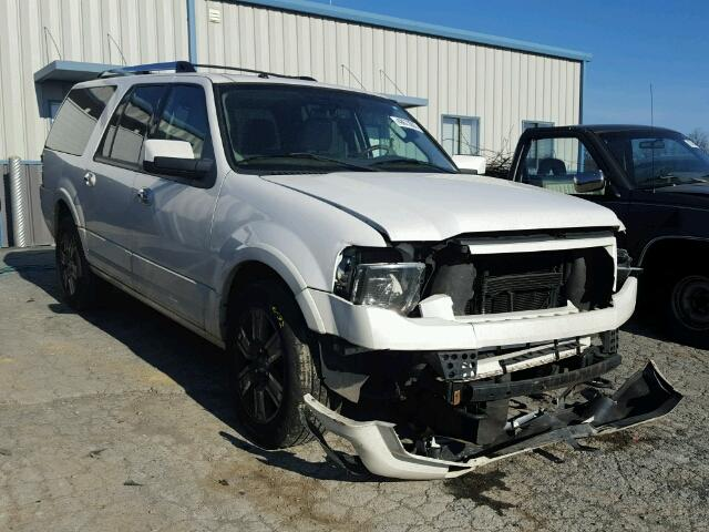 1FMJK2A53AEB08018 - 2010 FORD EXPEDITION WHITE photo 1