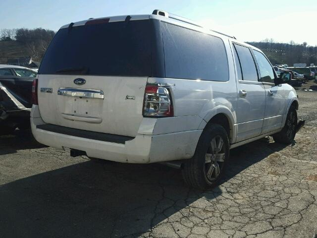1FMJK2A53AEB08018 - 2010 FORD EXPEDITION WHITE photo 4
