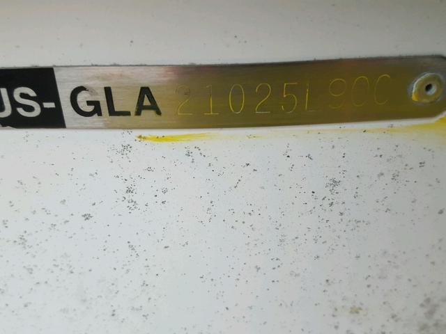 GLA21025L900 - 2000 GLAS 165 RX WHITE photo 10