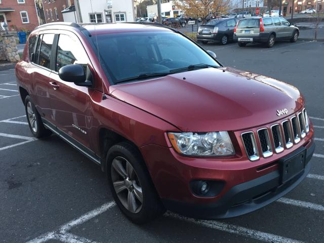 1J4NF1FB4BD149746 - 2011 JEEP COMPASS SP RED photo 1