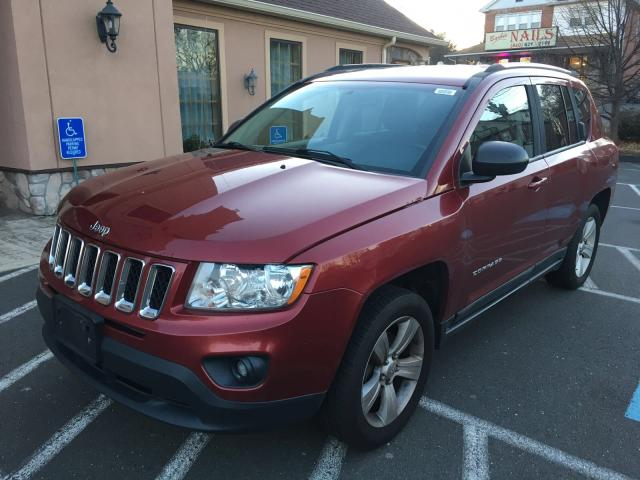 1J4NF1FB4BD149746 - 2011 JEEP COMPASS SP RED photo 2