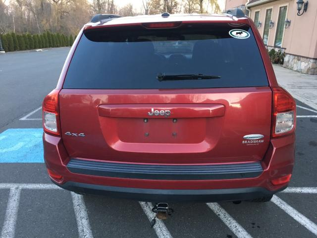 1J4NF1FB4BD149746 - 2011 JEEP COMPASS SP RED photo 6