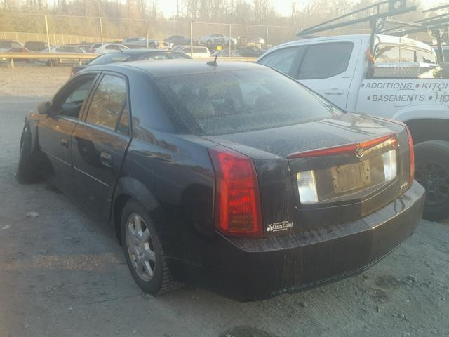 1G6DM57T660204431 - 2006 CADILLAC CTS RED photo 3