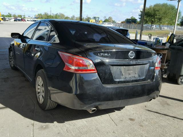 1N4AL3APXDN533089 - 2013 NISSAN ALTIMA 2.5 BLACK photo 3