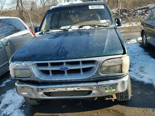 1FMDU34X6TUB90622 - 1996 FORD EXPLORER GREEN photo 9