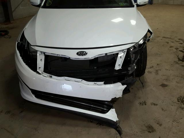 5XXGR4A65EG333685 - 2014 KIA OPTIMA SX WHITE photo 7
