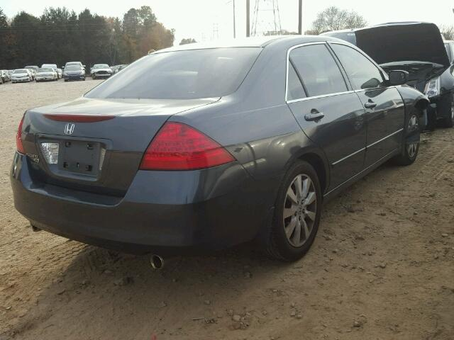 1HGCM66487A049466   2007 HONDA ACCORD SE CHARCOAL Photo 4