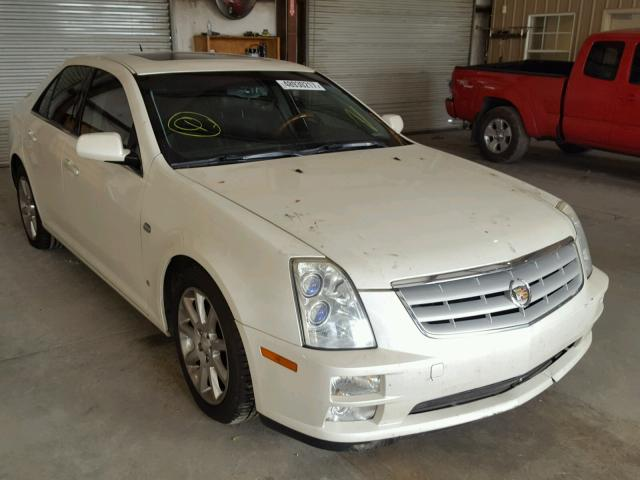 1G6DW677460163820 - 2006 CADILLAC STS WHITE photo 1