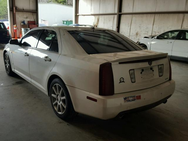 1G6DW677460163820 - 2006 CADILLAC STS WHITE photo 3