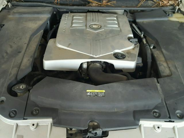 1G6DW677460163820 - 2006 CADILLAC STS WHITE photo 7