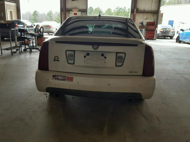 1G6DW677460163820 - 2006 CADILLAC STS WHITE photo 9
