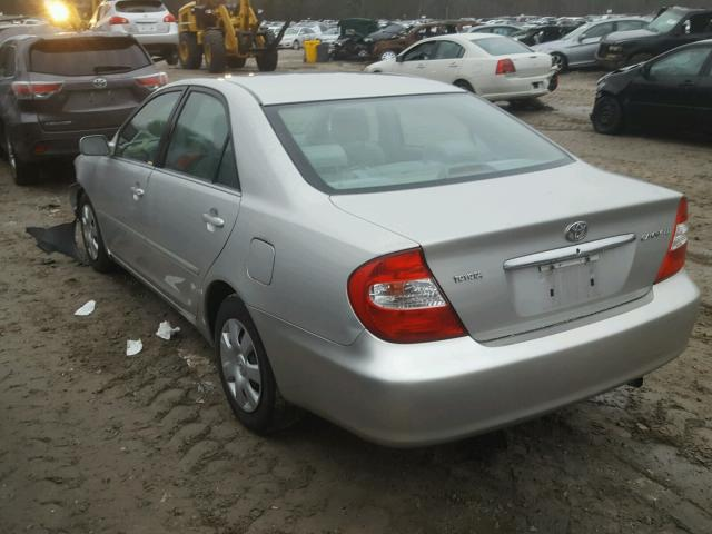4T1BE32K64U273464 - 2004 TOYOTA CAMRY LE GRAY photo 3