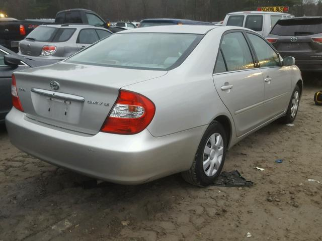 4T1BE32K64U273464 - 2004 TOYOTA CAMRY LE GRAY photo 4