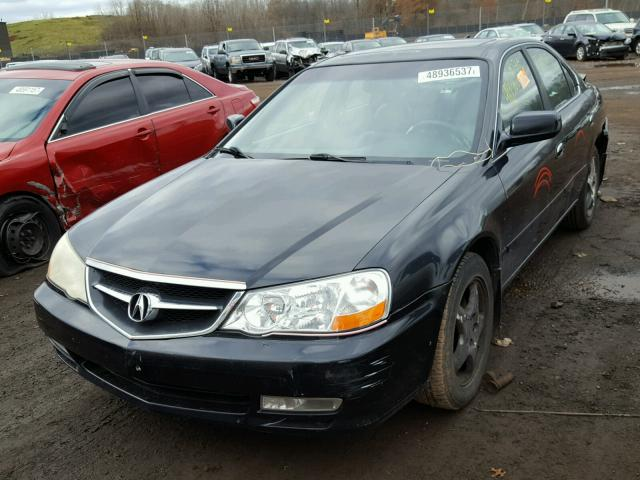 19UUA56613A083655 - 2003 ACURA 3.2TL BLACK photo 2