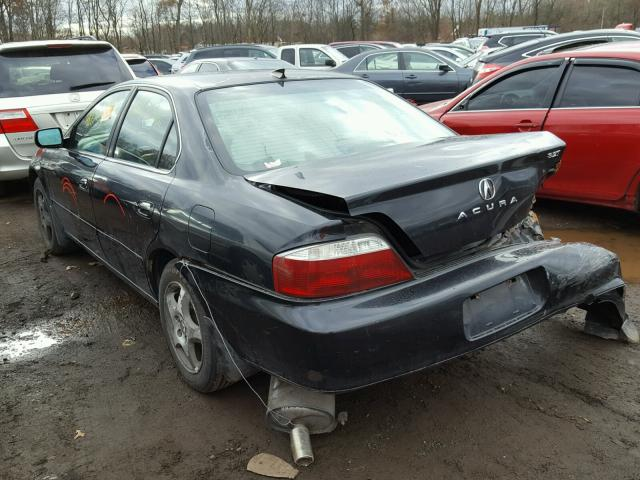 19UUA56613A083655 - 2003 ACURA 3.2TL BLACK photo 3
