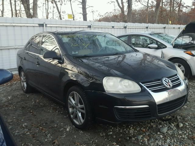 3VWSF71K25M638736 - 2005 VOLKSWAGEN NEW JETTA BLACK photo 1
