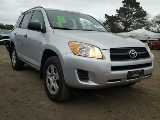 2T3BF4DV3AW056645 - 2010 TOYOTA RAV4 SILVER photo 1