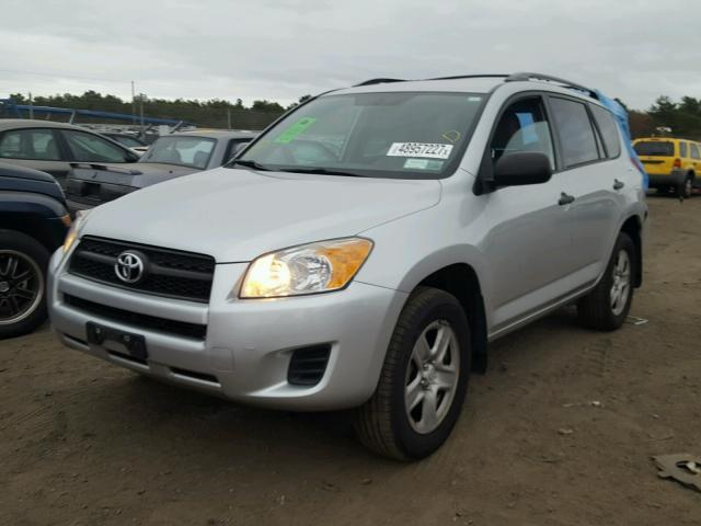 2T3BF4DV3AW056645 - 2010 TOYOTA RAV4 SILVER photo 2