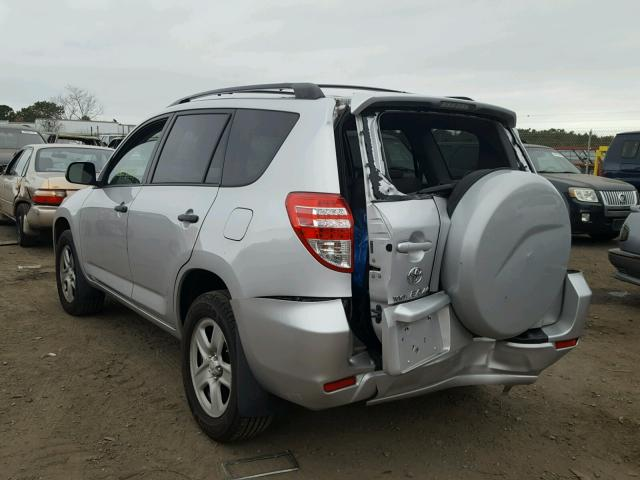 2T3BF4DV3AW056645 - 2010 TOYOTA RAV4 SILVER photo 3