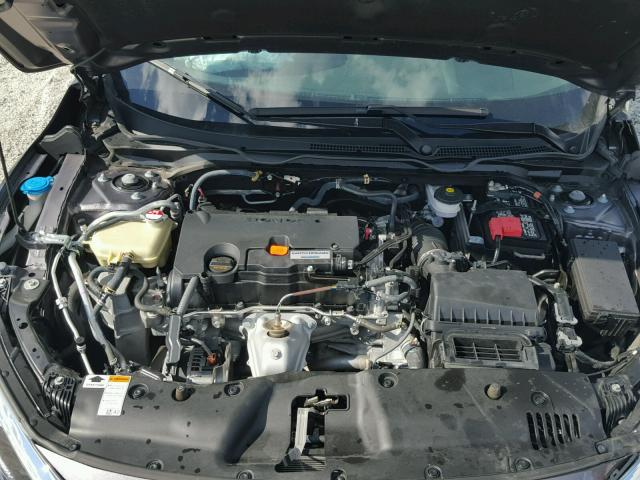 19XFC2F75GE065154 - 2016 HONDA CIVIC EX GRAY photo 7