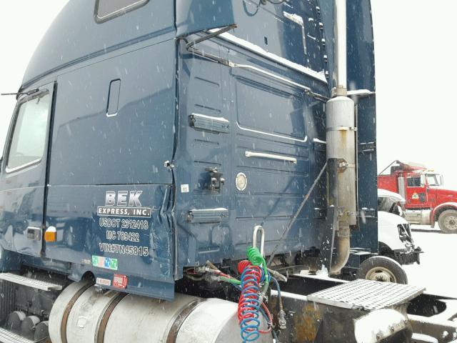 4V4NC9GH27N458153 - 2007 VOLVO VN VNL BLUE photo 9