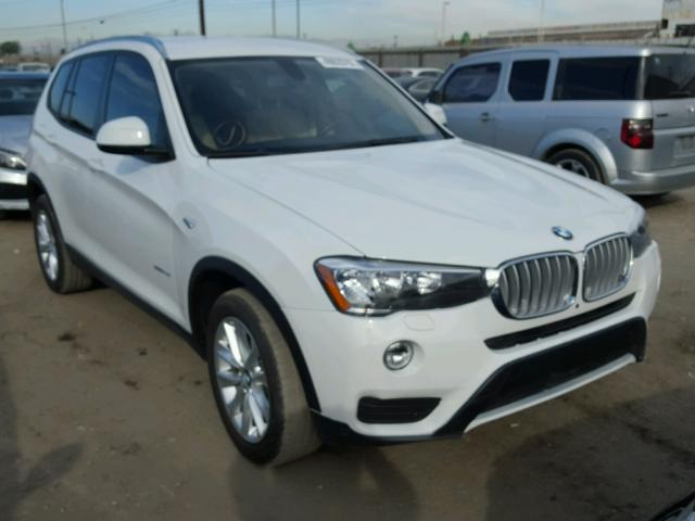 5UXWZ7C56G0R31837 - 2016 BMW X3 SDRIVE2 WHITE photo 1