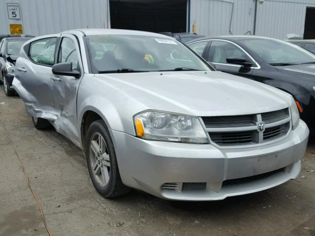 1B3LC46K88N622981 - 2008 DODGE AVENGER SE SILVER photo 1
