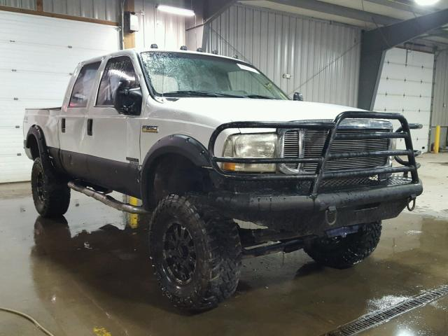 1FTNW21FX1EB96939 - 2001 FORD F250 SUPER WHITE photo 1