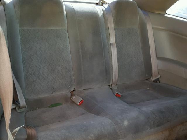 1HGEM21501L007659 - 2001 HONDA CIVIC LX RED photo 6