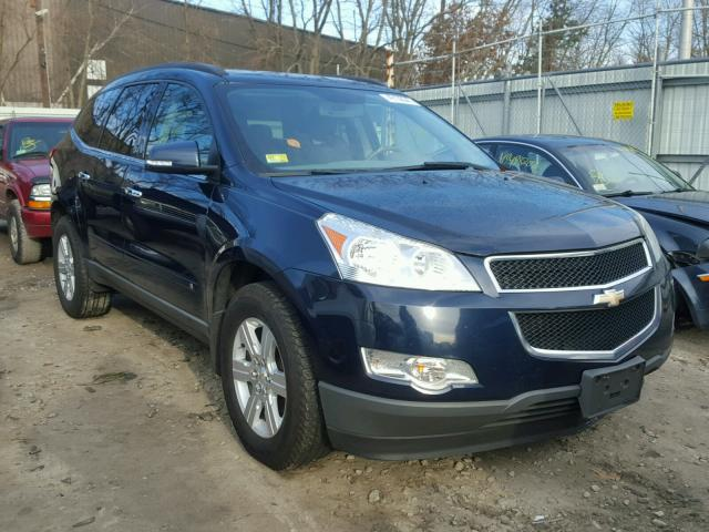 1GNLVFED4AS105456 - 2010 CHEVROLET TRAVERSE L BLUE photo 1