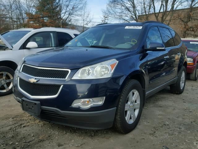 1GNLVFED4AS105456 - 2010 CHEVROLET TRAVERSE L BLUE photo 2