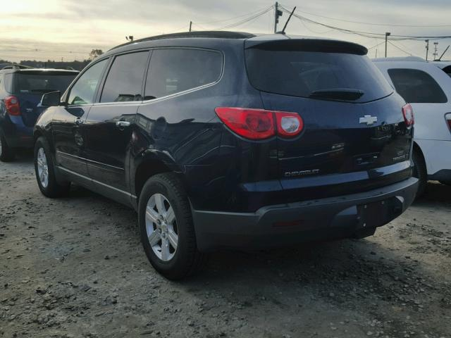 1GNLVFED4AS105456 - 2010 CHEVROLET TRAVERSE L BLUE photo 3