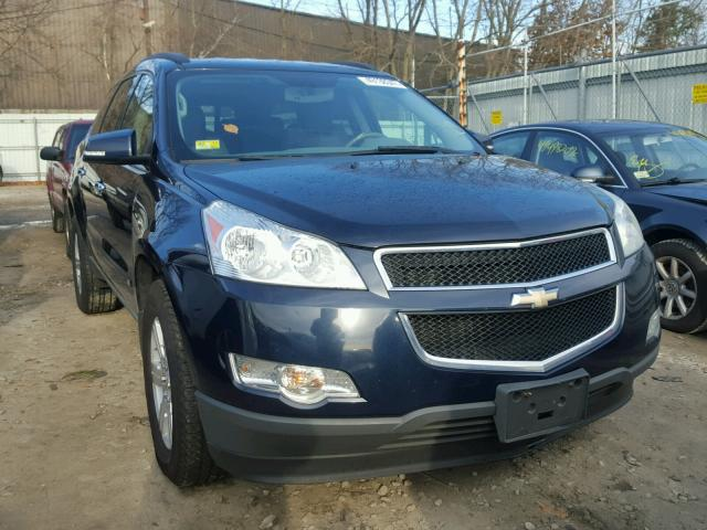 1GNLVFED4AS105456 - 2010 CHEVROLET TRAVERSE L BLUE photo 9
