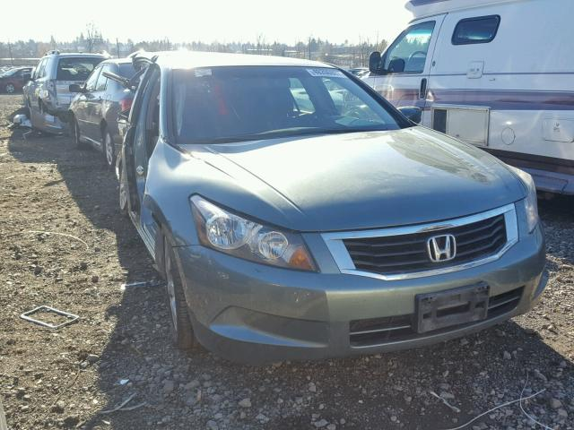 1HGCP26869A112618 - 2009 HONDA ACCORD EXL GREEN photo 1
