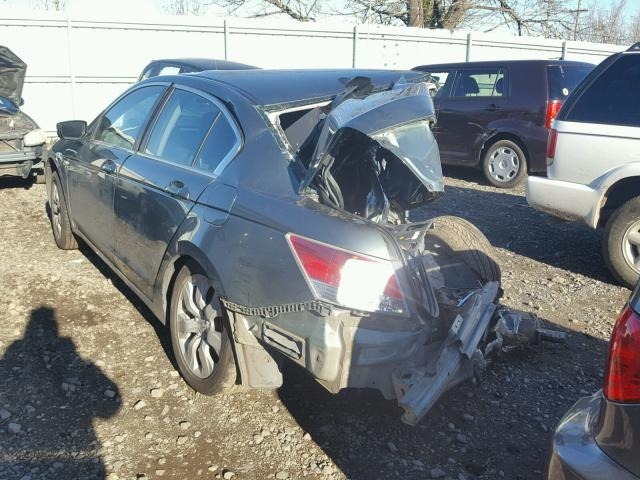 1HGCP26869A112618 - 2009 HONDA ACCORD EXL GREEN photo 3
