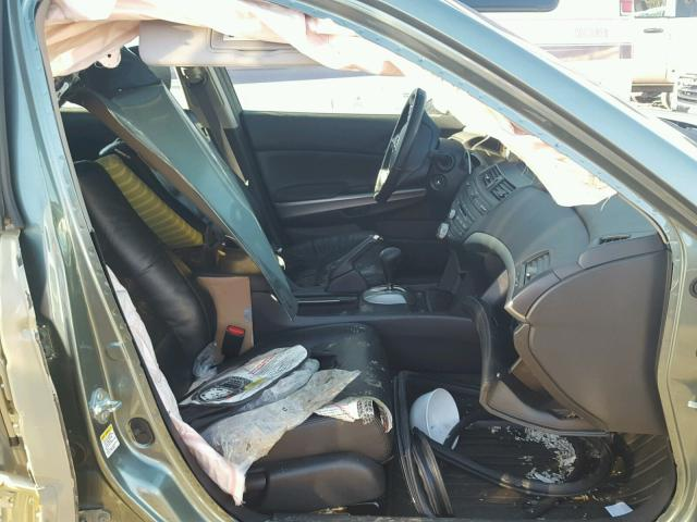 1HGCP26869A112618 - 2009 HONDA ACCORD EXL GREEN photo 5